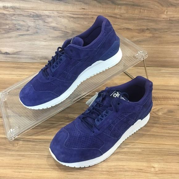 Asics Shoes   Gel Respector Blue Print